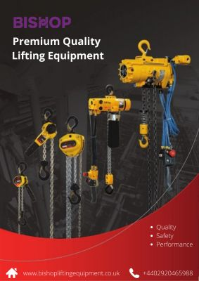 Undeniably, lifting equipment today is needed for safety purposes and efficient working by many constructions, mining, and manufacturing industries. No industry would like to compromise with the quality and have huge losses, in the long run, no matter if it is trailer winches or ratchet straps. Thus, there arises the need to have premium quality lifting equipment for your operations.  If you are looking for a reliable supplier that can offer you quality products at the best and affordable price, then Bishop is the top-notch solution for you. https://www.bishopliftingequipment.co.uk/hire-equipment/